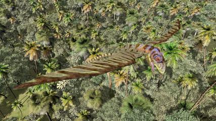 Flugsaurier Peteinosaurus