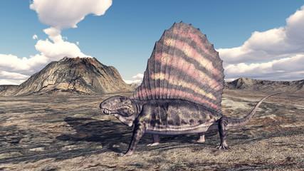 Pelycosaurier Dimetrodon