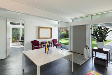 Interior, entrance of a modern house