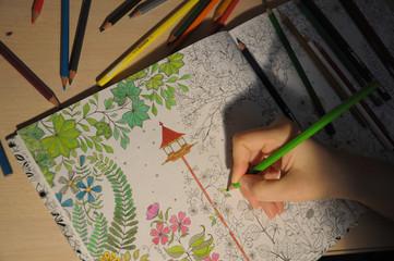 antistress coloring 2