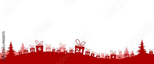 Weihnachtskalender Geschenke.Geschenke Weihnachtskalender Stock Image And Royalty Free Vector