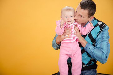 father and daughter studio
