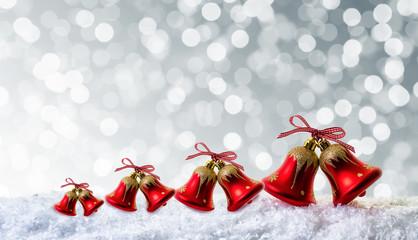 weihnachtsglocken karte