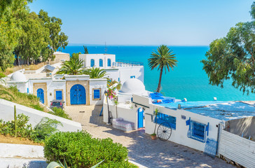 Papiers peints Tunisie The lovely place