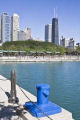 Fototapete - Office buildings in Chicago