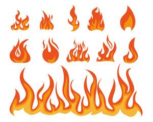 flame illustration