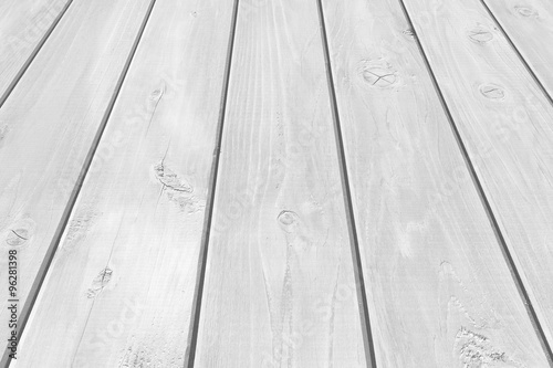 natural outdoor white wood floor background and texture