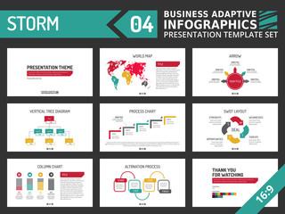 Presentation template set 3