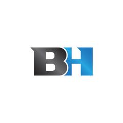 unique sign initials name BH Lettermark
