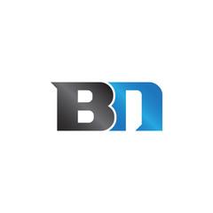 unique sign initials name BN Lettermark