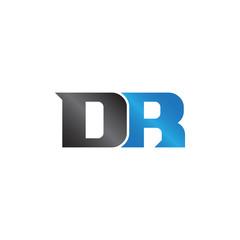 initials name DR Lettermark