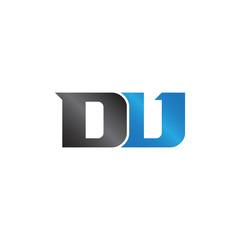 initials name DV Lettermark