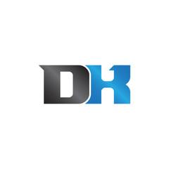initials name DX Lettermark