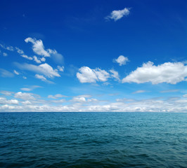 Poster Mer / Ocean Blue sea water