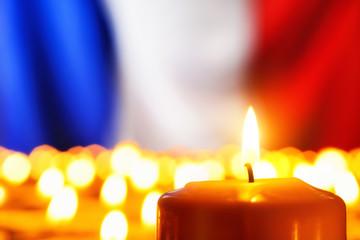 Frankreich in Trauer