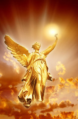 Wall Mural - Angel of Divine Light
