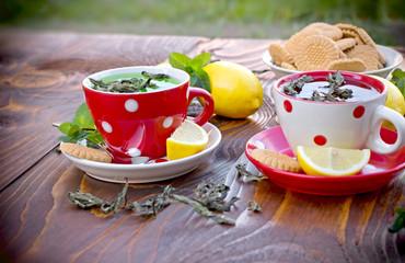 Mint tea - healthy drink