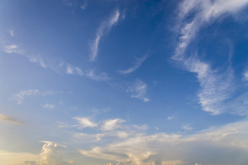 sky with cloud background