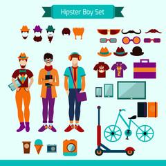 Hipster Boy Set