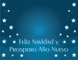 Feliz Navidad y Prospero Ano Nuevo