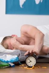 Headache after alcohol