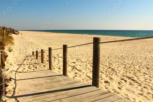 Fototapete algarve weg zum strand II