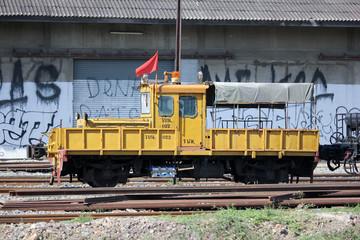 Maintenance train of State railway of thailand