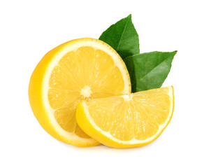 Lemon isolated