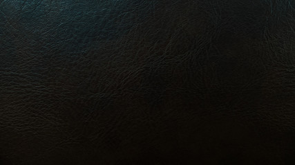 Used Black Leather Background Texture  for Furniture Material