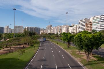 Avenue Infante Dom Henrique in Rio de Janeiro