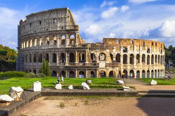 Wall Murals Rome Great italian landmarks- Colosseum, Rome