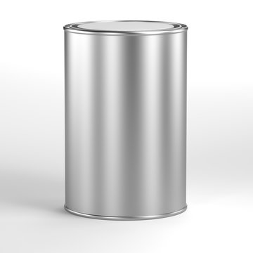 aluminum can for paint