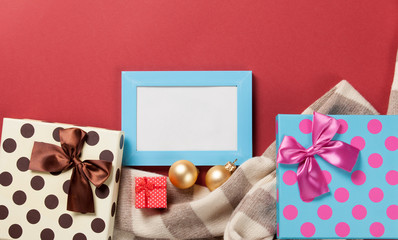 Photo frame and christmas gifts