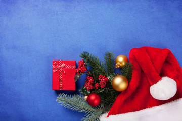 Box and Christmas gifts