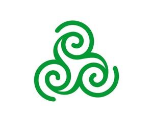Celtic Spiral Logo