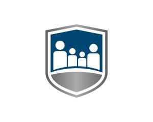 family shield logo