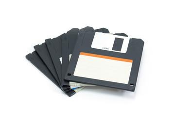 Floppy Disk set. on white background