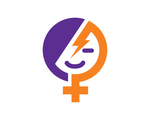 Women Power Symbol