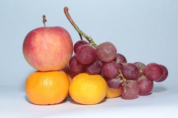 Apple Tangerines Fruit