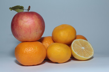 Mandarin_Fruit_Apple_Lemon