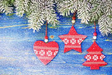 Christmas-tree garland