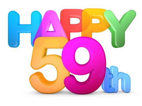 Happy 59th Title
