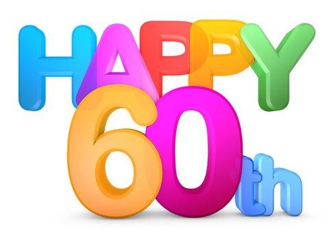 Happy 60th Title
