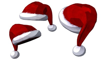 Christmas hats set