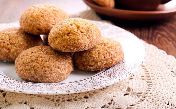 Soft spicy brown sugar cookies