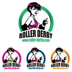 logo roller derby