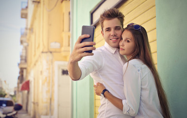 Tender selfie