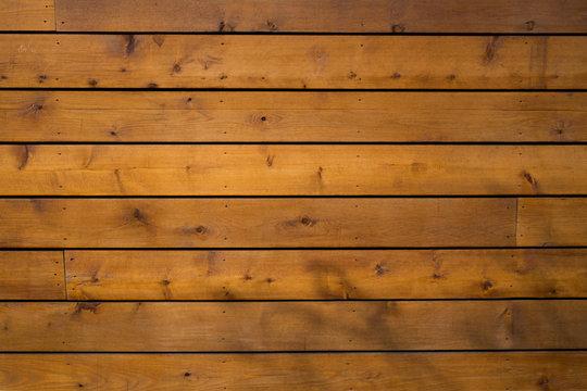 Cedar Wood Planks Wall Background