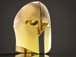 3D Isolated Helmet