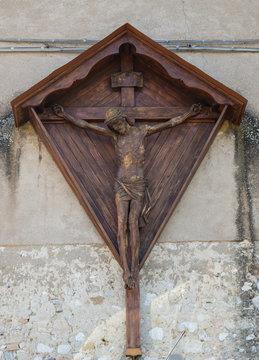Raffigurazione di Gesù crocefisso